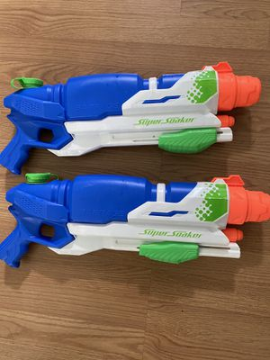 Super nerf water guns for Sale in Los Angeles, CA