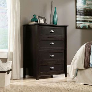 County Line 4-Drawer Chest, Black for Sale in Fountain Valley, CA
