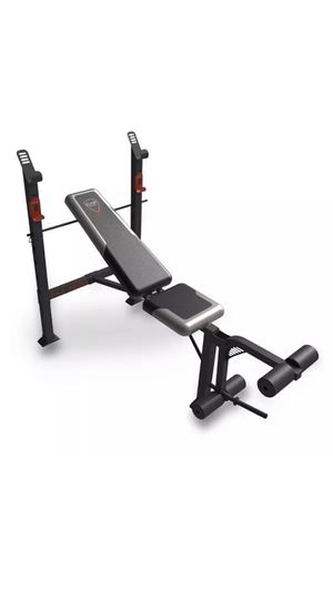 Standard Barbell Bench. New in box - for Sale in Tampa, FL