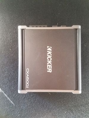 Kicker cxa600.1 amp for Sale in Fort Leonard Wood, MO