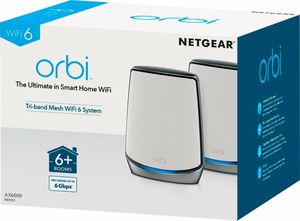Orbi AX6000 Tri-band Mesh WiFi 6 System (2-pack) for Sale in Bristol, CT