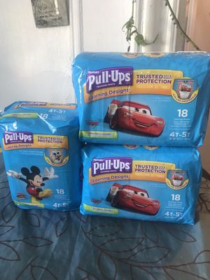 Huggies pulls for Sale in The Bronx, NY