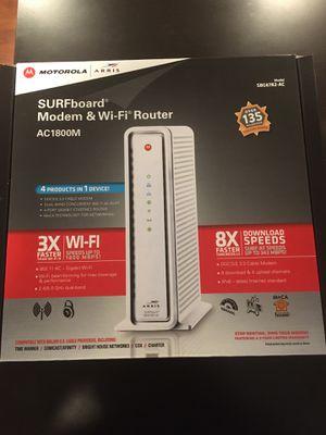 Motorola Arris AC1800M Modem & Wi-Fi Router for Sale in Anaheim, CA