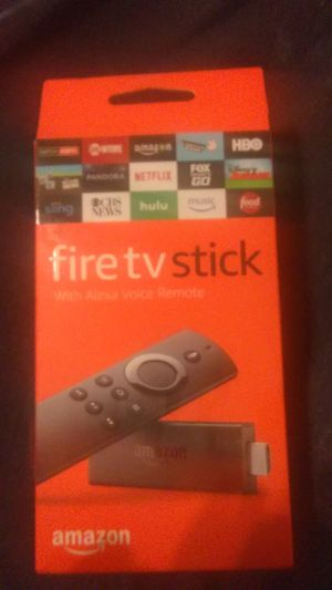 Amazon firetv stick for Sale in Apple Valley, CA