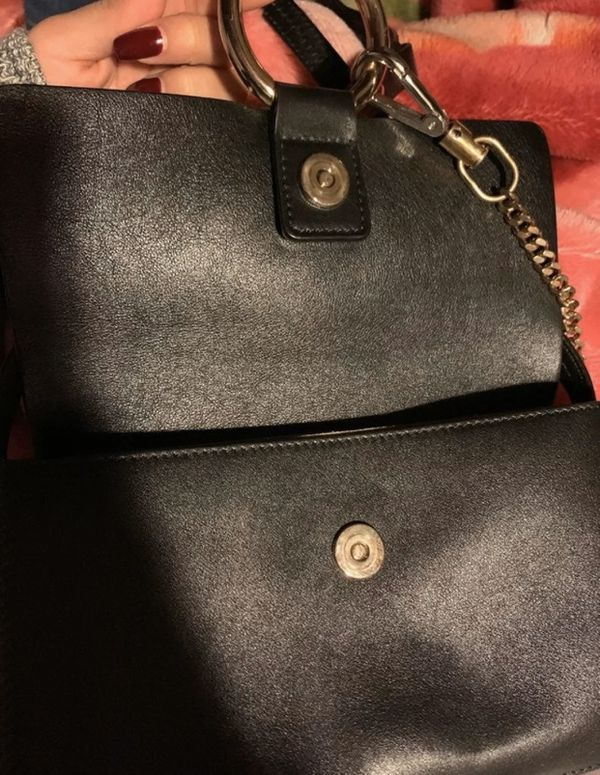 Chloe small Faye black crossbody bag
