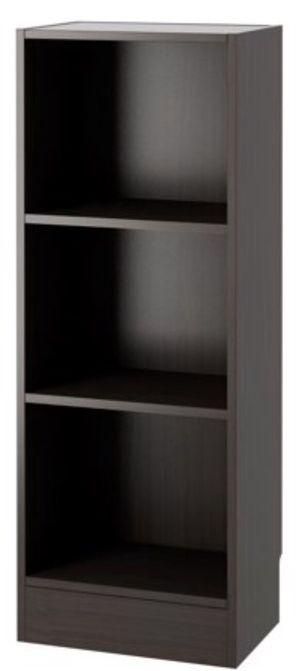New!! Bookcase, bookshelves, organizer, decorative furniture, storage unit , 3 shelf narrow unit coffee for Sale in Phoenix, AZ