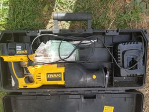 Dewalt Sawzall/Reciprocating Saw for Sale in Norwich, CT