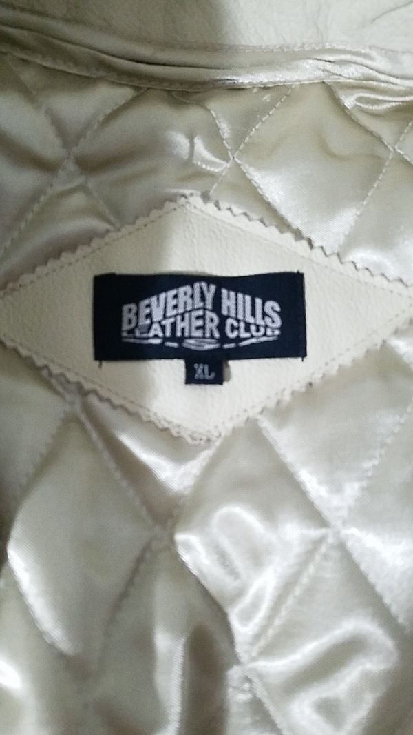 Beverly hills leather club jacket original