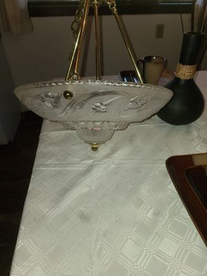 Glass chandelier for Sale in Hampton, VA