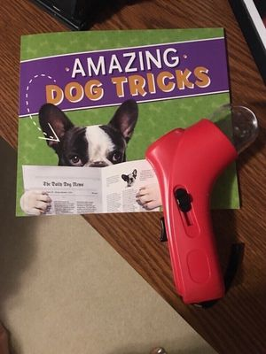 Dog Training Book & Treat Launcher for Sale in Smyrna, TN