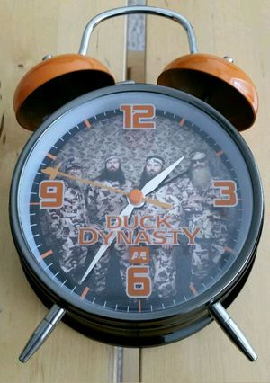Duck dynasty alarm clock out of box but never used for Sale in St. Louis, MO