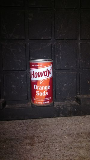 Howdy pop can for Sale in Motley, MN
