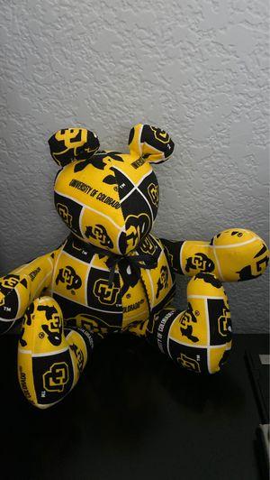 CU stuffed bear for Sale in Broomfield, CO