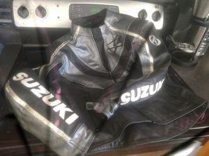 Suzuki motorcycle jacket med for Sale in Madbury, NH
