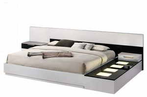 Bahamas Queen modern platform bed, available in 3 sizes, LED side box and matching set is also available, Sold separately! Super sale! Limited time o for Sale in Ontario, CA