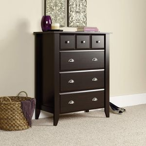 4-Drawer Chest, Jamocha Wood Finish for Sale in Fountain Valley, CA