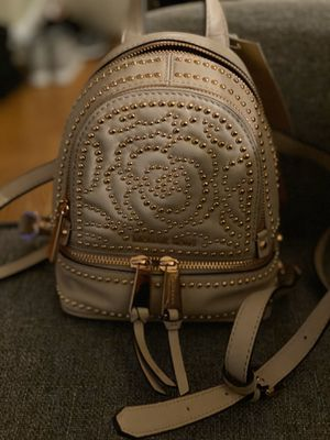 Michael kors mini back pack blush with rose gold studs for Sale in West Chicago, IL