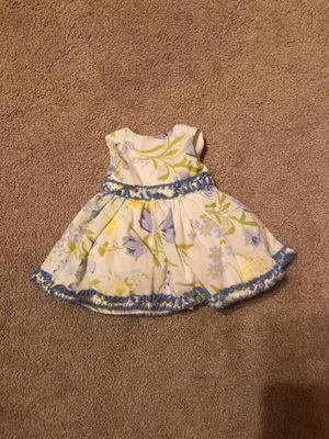 Doll flower dress, fits American girl dolls too for Sale in Queens, NY