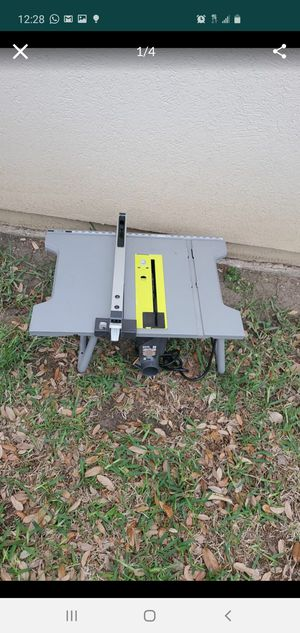 Table saw for Sale in San Antonio, TX