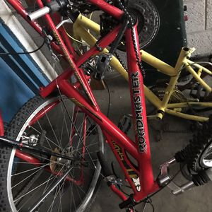 26 inch road master four red his blue hers and violet model ground assault 26 inch for Sale in Salt Lake City, UT