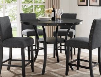 5 Pc Gray Dining Table Set for Sale in Glendale,  AZ
