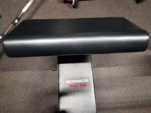 Preacher Curl Pad for SB/PRO | Ironmaster for Sale in West Covina, CA