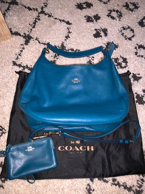 Coach hobo tote bag with wallet for Sale in Willow Park, TX