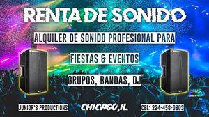 Sonido para Grupos,DJ Bandas for Sale in Chicago, IL
