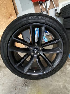 2019 scat pack charger wheels and tires 20in for Sale in Haymarket, VA
