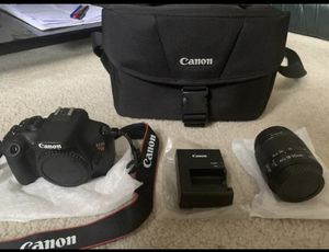 Canon Rebel T5 (Excellent Condition) for Sale in Kent, WA