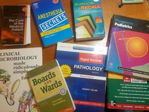 Medical School Books - USED Lot of 7 for Sale in Riverside, CA
