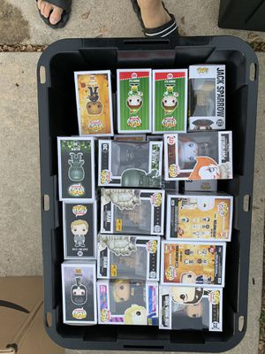 Dragon Ball Z Harry Potter TV Walking Dead Movies Funko for Sale in Cedar Park, TX