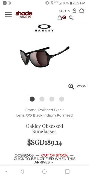 Oakley Obsessed OO9192-06 women's sunglasses for Sale in Spokane, WA