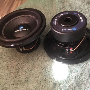 2/12 Nemesis Audio Subwoofers for Sale in Lakeside, CA
