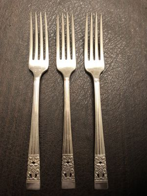 Antique Oneida Community Coronation Forks for Sale in Chantilly, VA