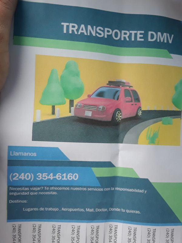 Taxi/transportation