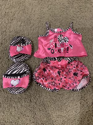 Build-A-Bear Workshop// Diva Pajama Set// Hello Kitty Pajama Set// for Sale in Santa Ana, CA