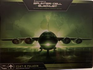 tom clancy's splinter cell blacklist paladin multi-mission aircraft edition for Sale in Minneapolis, MN