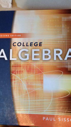 College Algebra 2nd edition for Sale in Chicago, IL