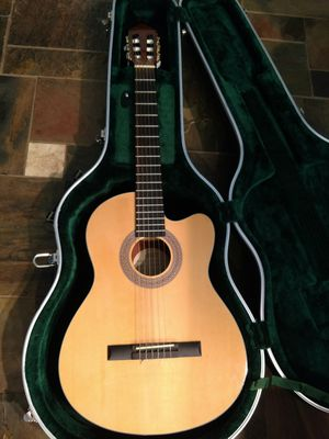Lucero nylon acoustic/ electric guitar for Sale in Jamul, CA