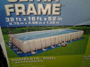 Pond Liner only new index 32'x16' vinyl liner pool or pound for Sale in Lyndhurst, NJ