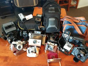 Vintage Camera Collection for Sale in Houston, TX