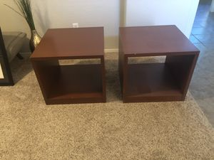 Pair of accent tables for Sale in Gilbert, AZ