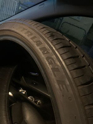 Used Triangle Tire 90% Thread 245/35/20 $85 obo for Sale in Inglewood, CA