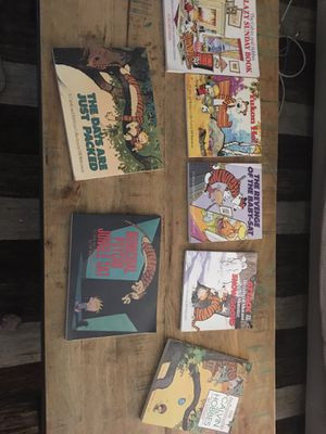 Calvin and Hobbes 7 books for Sale in Los Angeles, CA