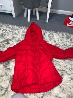 red hollister puffer jacket for Sale in Seattle, WA