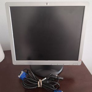 HP Compaq 17 Inch Monitor W/ Stand And VGA Cables for Sale in San Diego, CA