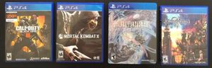 PS4 Game Lot for Sale in Plainfield, IL