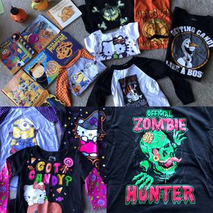 Halloween books, cups & shirts- kids sizes in description! for Sale in Vallejo, CA
