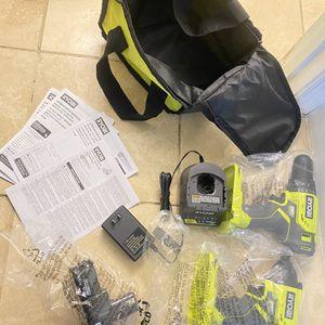 New Ryobi One Impact Driver & 2 Speed Drill for Sale in Arlington, VA
